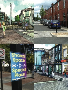 Shared Spaces and Mixed use streets